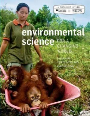 Book cover Environmental Science for a Changing World