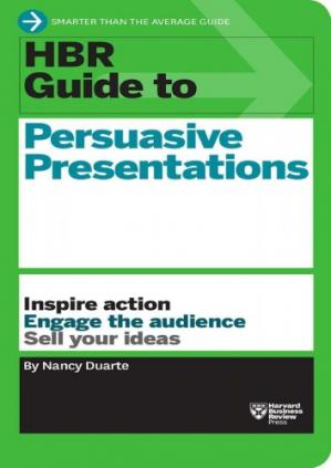 Book cover HBR Guide to Persuasive Presentations