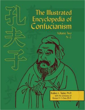 Couverture du livre The Illustrated Encyclopedia of Confucianism, Vol. 1