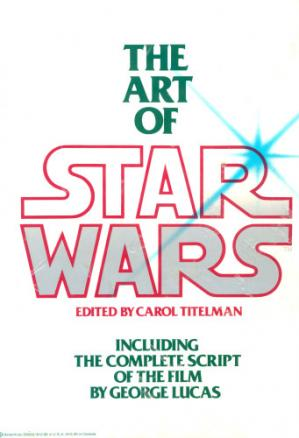 Book cover The Art of Star Wars