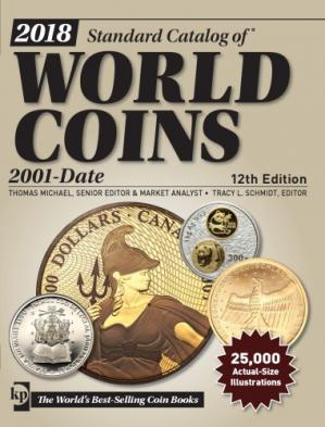 Okładka książki 2018 Standard Catalog of World Coins 2001-Date, 12th edition