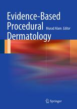A capa do livro Evidence-Based Procedural Dermatology