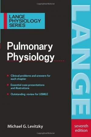 Portada del libro Pulmonary Physiology (Lange Physiology)
