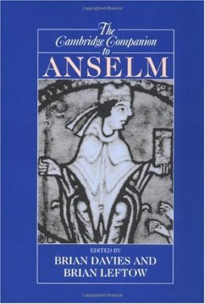 Обкладинка книги The Cambridge Companion to Anselm