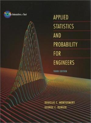 Couverture du livre Applied Statistics and Probability for Engineers, 3rd Edition