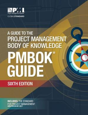 Book cover A Guide to the Project Management Body of Knowledge (PMBOK Guide)