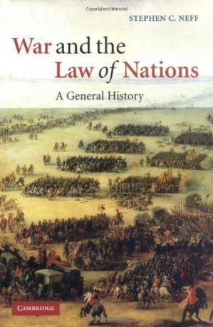 Okładka książki War and the Law of Nations: A General History
