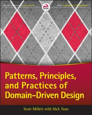 पुस्तक कवर Patterns, Principles and Practices of Domain-Driven Design