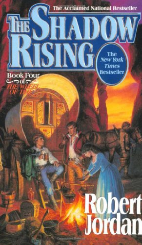 पुस्तक कवर The Shadow Rising (The Wheel of Time, Book 4)