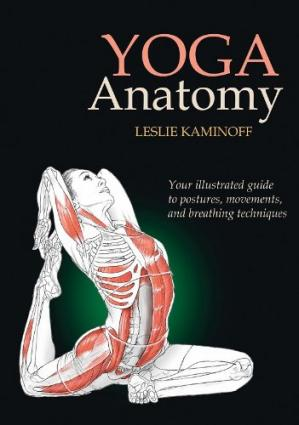 Sampul buku Yoga Anatomy