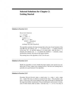 Book cover Introduction to algorithms [solutions]