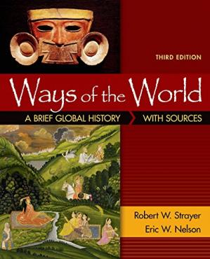 Book cover Ways of the World: A Brief Global History with Sources, Combined Volume