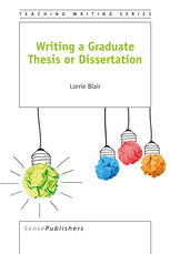Book cover Writing a Graduate Thesis or Dissertation