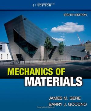Book cover Mechanics of Materials, SI Edition