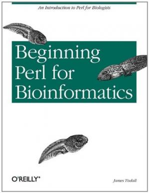 表紙 Beginning perl for bioinformatics