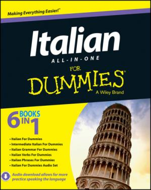 Buchdeckel Italian All-in-One For Dummies (For Dummies (Language & Literature))