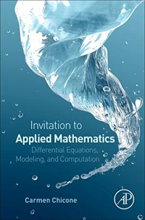 Okładka książki An Invitation to Applied Mathematics. Differential Equations, Modeling, and Computation