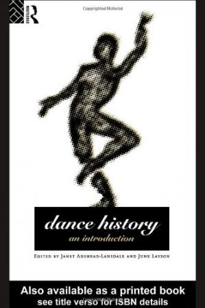 Book cover Dance history: an introduction