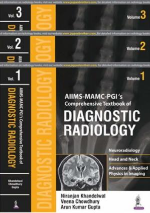 A capa do livro AIIMS MAMC: PGI's Comprehensive Textbook of Diagnostic Radiology