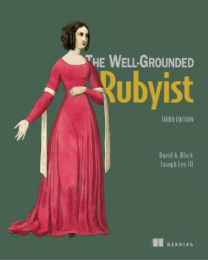 A capa do livro The Well Grounded Rubyist