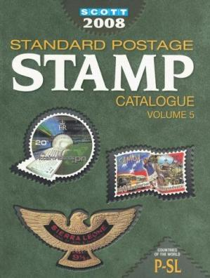 Book cover 2008 STANDARD POSTAGE STAMP CATALOGUE, VOLUME 5