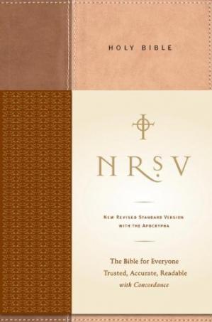 Book cover Standard Bible-NRSV