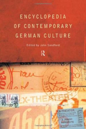 Book cover Encyclopedia of Contemporary German Culture