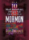 Book cover The 10 Most Important Things You Can Say to a Mormon