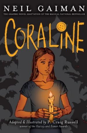 Book cover Coraline Graphic Novel