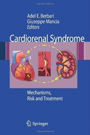 Обкладинка книги Cardiorenal Syndrome: Mechanisms, Risk and Treatment