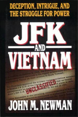 A capa do livro JFK and Vietnam: Deception, Intrigue, and the Struggle for Power