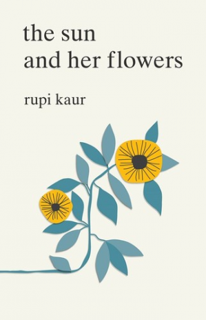 A capa do livro The Sun and Her Flowers