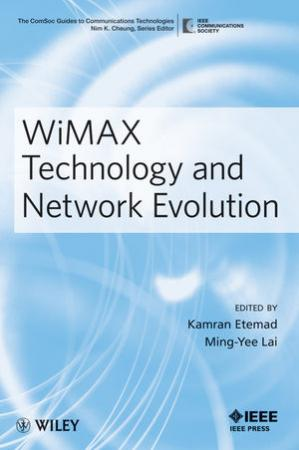 Обкладинка книги WiMAX Technology and Network Evolution