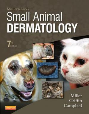 Portada del libro Muller and Kirk's Small Animal Dermatology