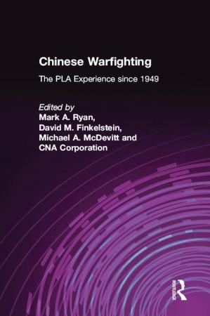 Book cover Chinese Warfighting - The PLA Experience since 1949