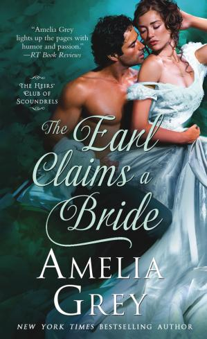 Sampul buku The Earl Claims a Bride