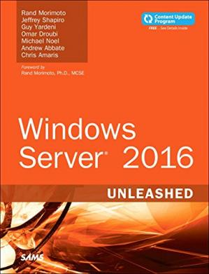Copertina Windows Server 2016 Unleashed
