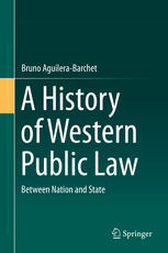 Portada del libro A History of Western Public Law: Between Nation and State