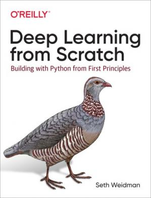 Book cover Deep Learning from Scratch: Building with Python from First Principles