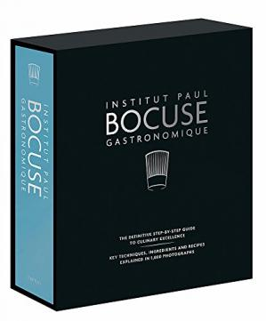 Book cover Institut Paul Bocuse Gastronomique: The definitive step-by-step guide to culinary excellence