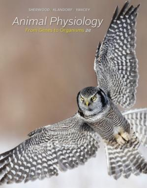 Couverture du livre Animal Physiology: From Genes to Organisms