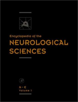 Copertina Encyclopedia of the Neurological Sciences