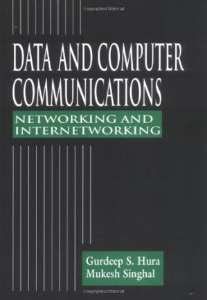 Book cover Data and computer communications: networking and internetworking