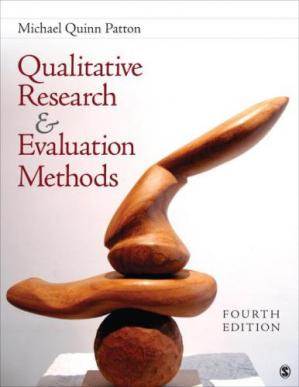 Обкладинка книги Qualitative Research & Evaluation Methods: Integrating Theory and Practice
