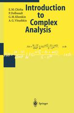Book cover Introduction to Complex Analysis