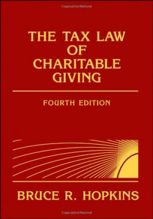 Copertina The Tax Law of Charitable Giving, 4th edition