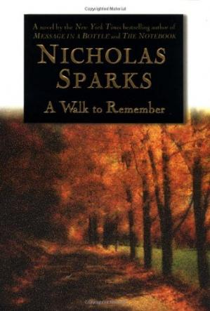Book cover A walk to remember