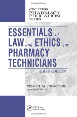 Sampul buku Essentials of Law and Ethics for Pharmacy Technicians, Third Edition