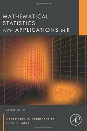 Copertina Mathematical statistics with applications in R