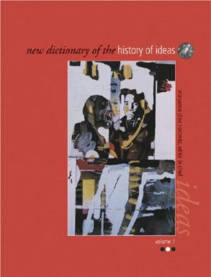 Обкладинка книги New Dictionary of the History of Ideas
